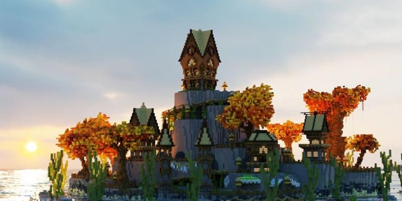 Qualitätsarchitektur und Design in Minecraft