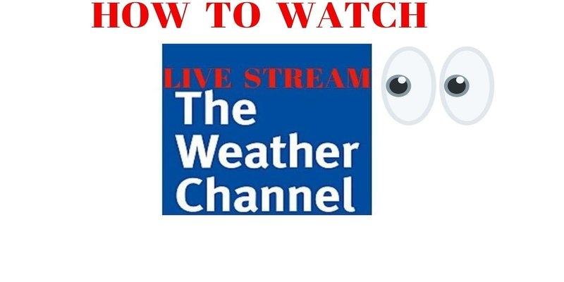 Ist es möglich, The Weather Channel zu senden?