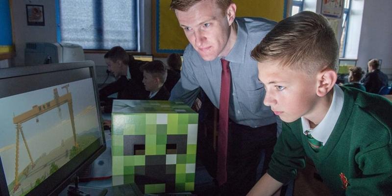 Polen fördert den Einsatz von Minecraft