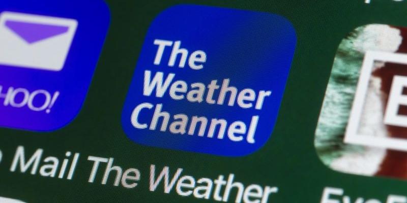 The Weather Channel gehört zu den besten mobilen Apps
